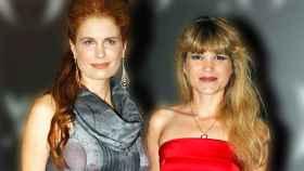 Olivia y Cristina de Borbón en un evento público juntas.