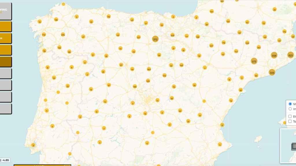 Las construcciones medievales (1050-1300) de la Península Ibérica.