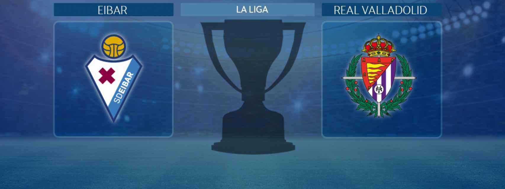 Eibar - Real Valladolid, partido de La Liga