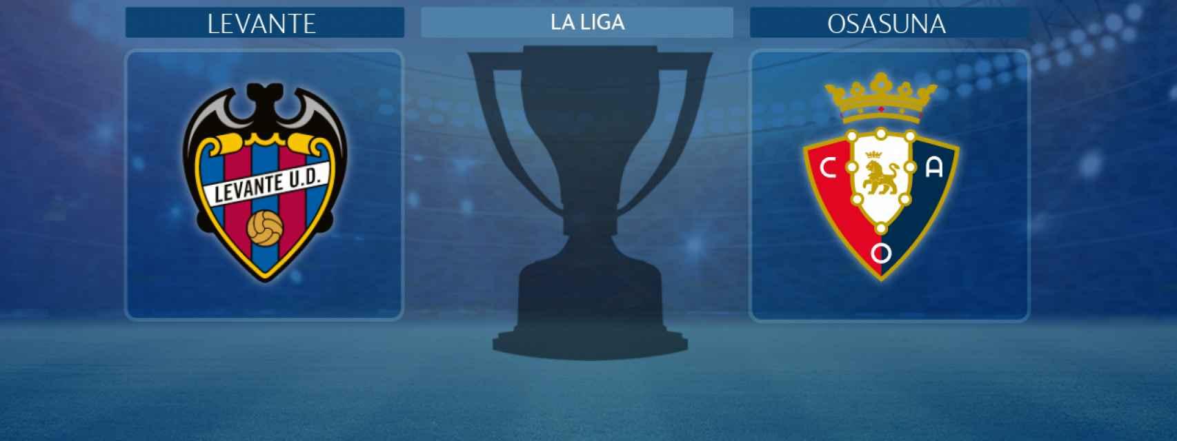 Levante - Osasuna, partido de La Liga