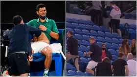 Djokovic, en el Open de Australia
