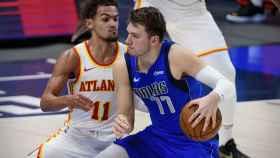 Luka Doncic, contra Atlanta Hawks
