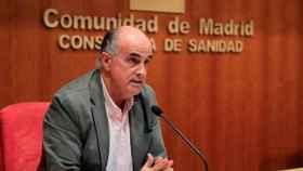 Antonio Zapatero, viceconsejero de Sanidad de la Comunidad de Madrid