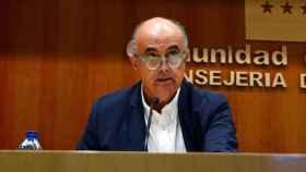 Antonio Zapatero, viceconsejero de Sanidad de la Comunidad de Madrid. Efe