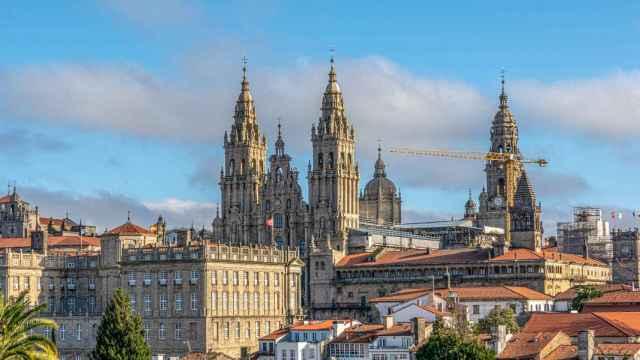 La ciudad de Santiago de Compostela, con su mítica catedral al fondo. FOTO: Javier Alamo (Pixabay).