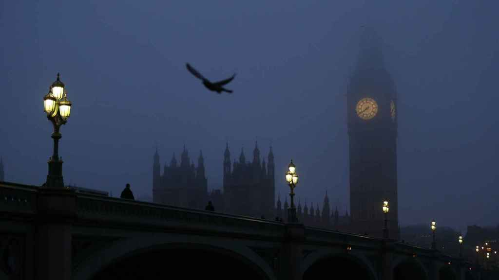 Torre del Big Ben, Gran Bretaña, Londres.