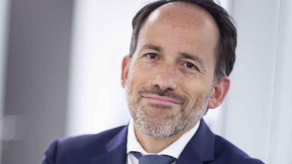 Joaquín Ferrer, gestor del equipo de Mutuactivos en las oficinas de la firma.