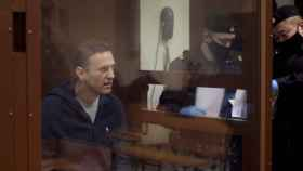 Alexéi Navalny, en una imagen del juicio.