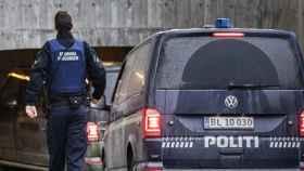 La policía de Dinamarca.