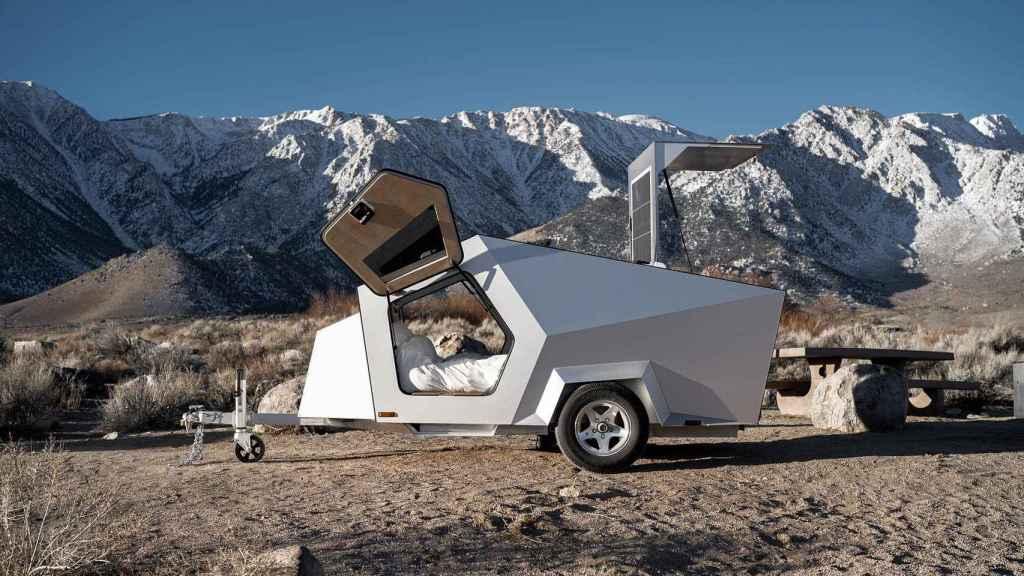 La caravana para coches eléctricos Polydrops P17A