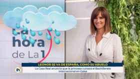 Mónica López, presentadora de 'La hora de La 1'.