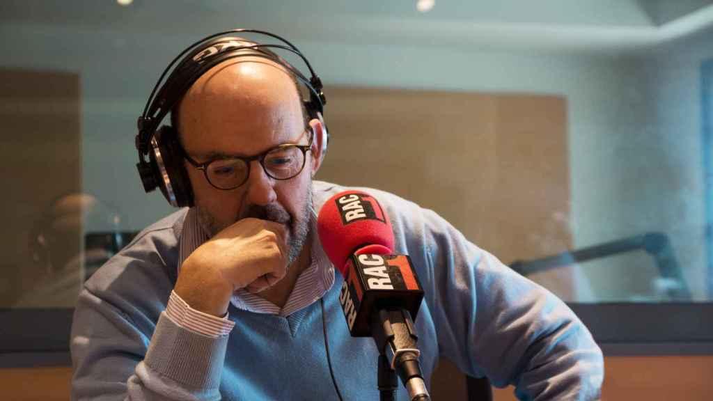 Jordi Basté, en el estudio de RAC 1.