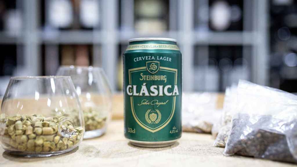 La cerveza Steinburg, la marca blanca de Mercadona.