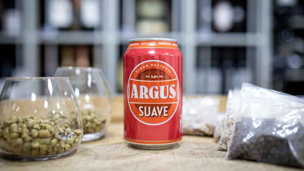 La cerveza Argus, la marca blanca de Lidl.