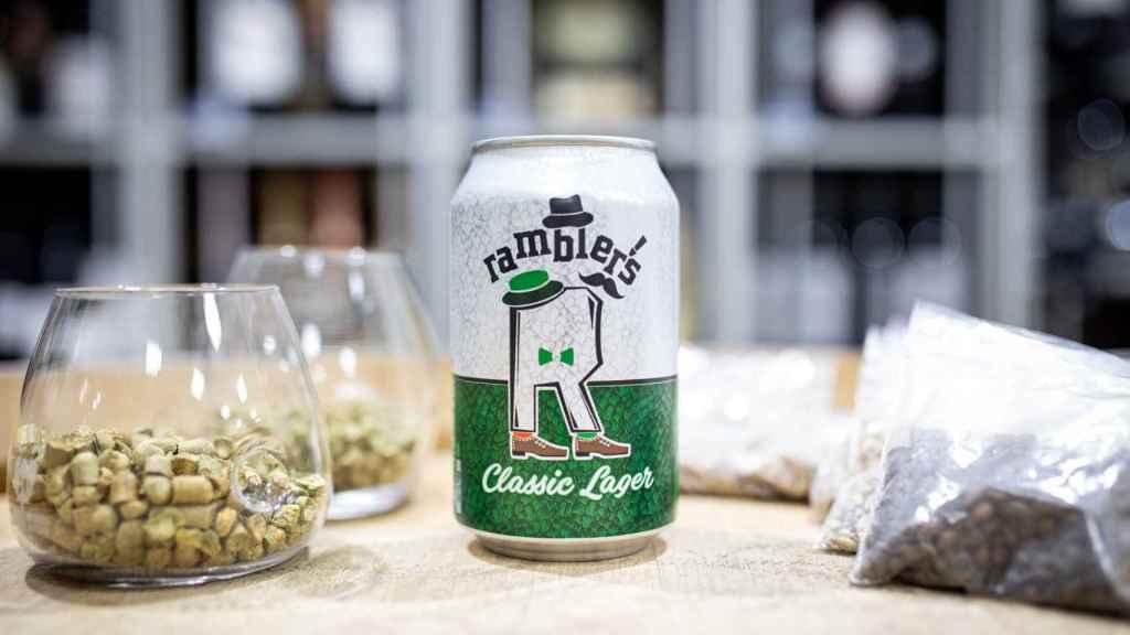 La cerveza Ramblers, la marca blanca de Dia.