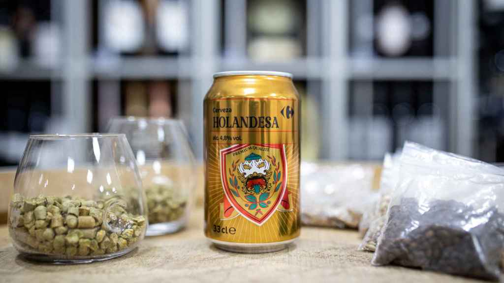 La cerveza Holandesa, la marca blanca de Carrefour.
