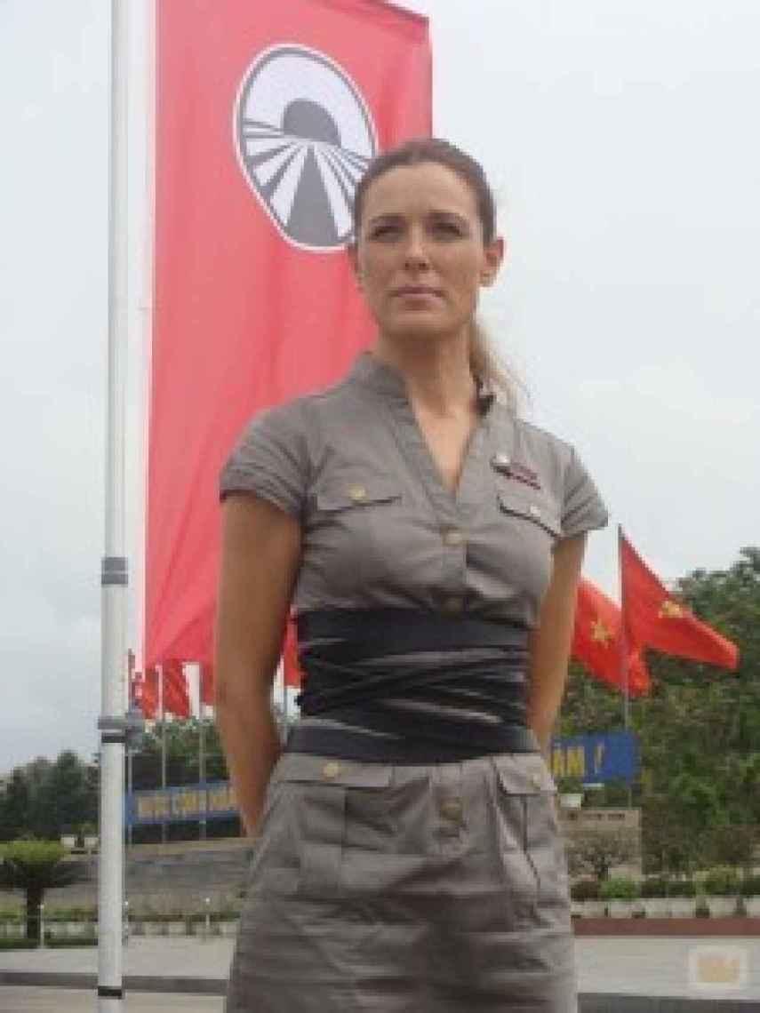 Raquel Sánchez Silva, en el programa 'Pekín Express'.
