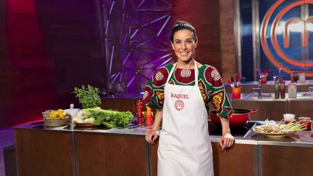 Raquel Sánchez Silva durante su paso por 'MasterChef Celebrity'.