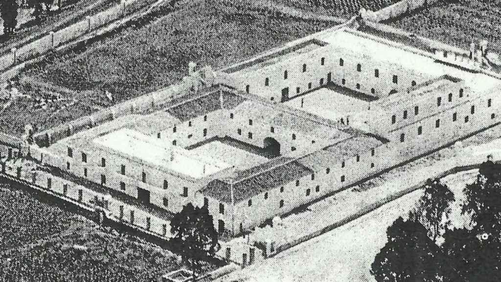 Penal de la Casería de Ossio en San Fernando donde estuvieron presos militares murcianos del bando republicano.