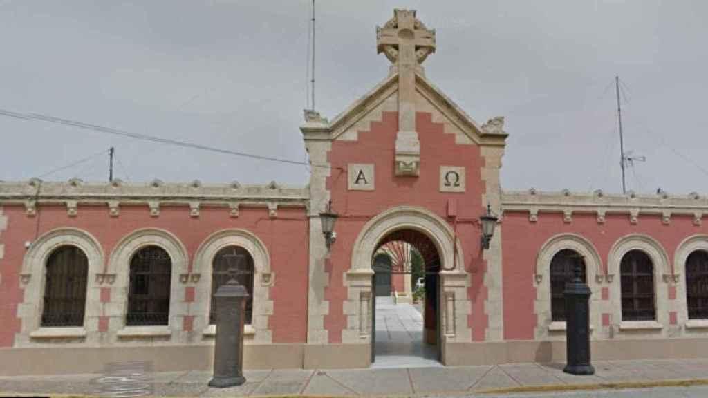 El cementerio municipal de San Fernando.