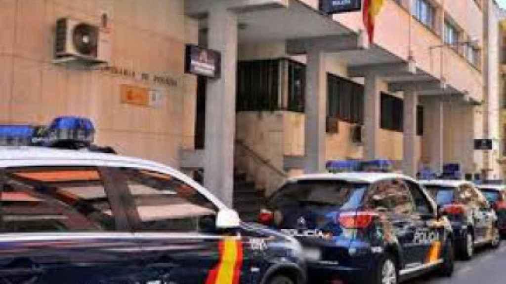 Instalaciones de la Comisaría de Policía Nacional de Linares donde están destinados los agentes detenidos.