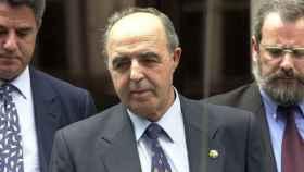 Enrique Rodríguez Galindo durante el juicio de Lasa y Zabala.