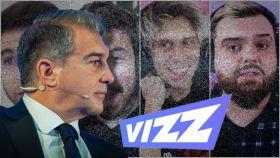 Joan Laporta y Vizz-Agency