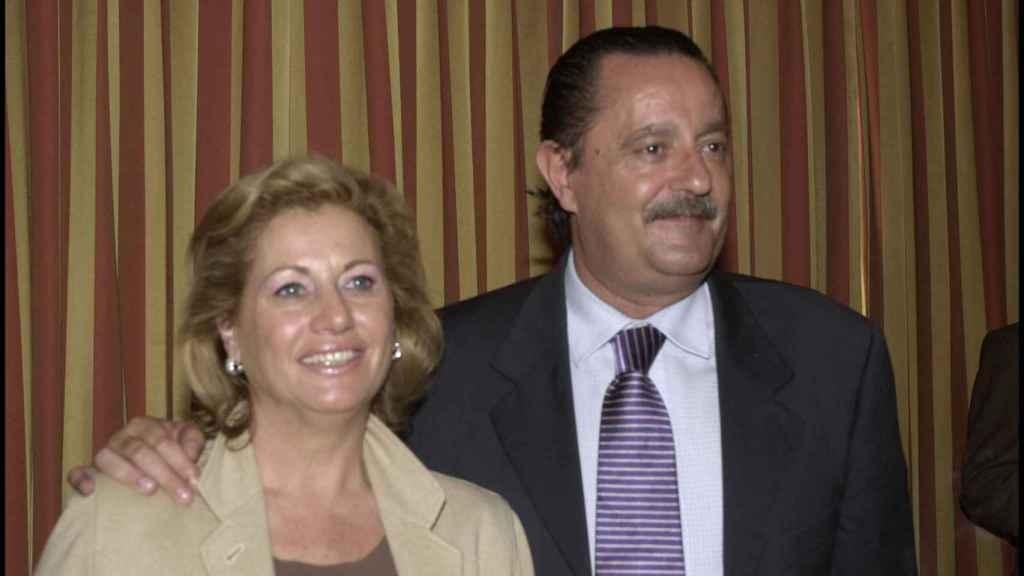 Maite Zaldívar y Julián Muñoz, en una imagen de archivo.