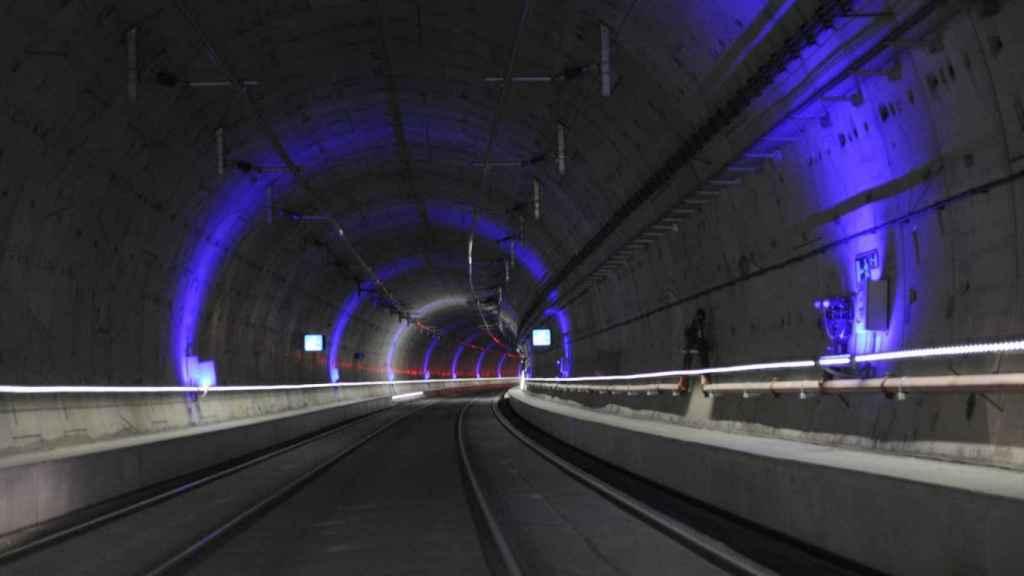 Túnel de alta velocidad Atocha-Chamartín.