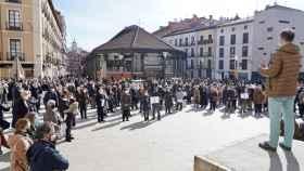 Unas 300 personas se concentran en Valladolid para revindicar la libertad religiosa frente a las medidas sanitarias 1