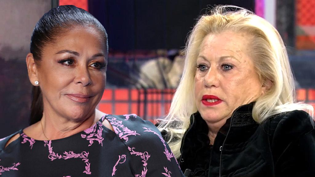 Isabel Pantoja y Maite Zaldívar, en un fotomontaje de JALEOS.