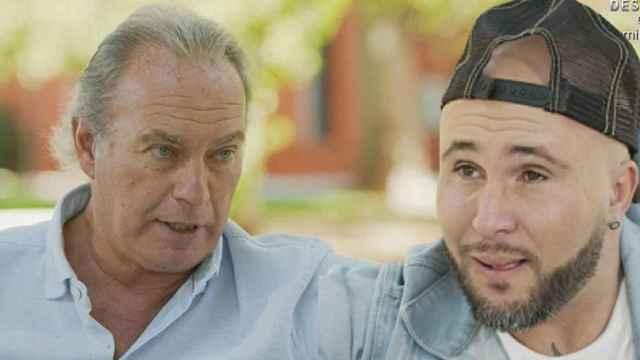 Bertín Osborne y Kiko Rivera, durante su encuentro en 'Mi casa es la tuya'.