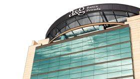 Sede de A&G Banca Privada en la Castellana (Madrid).