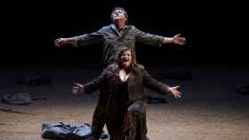 La soprano Ricarda Merbeth (Bru¨nnhilde) y el tenor Andreas Schager (Siegfried).