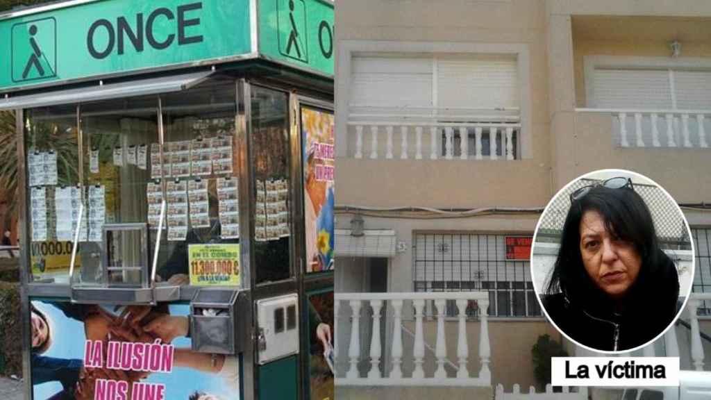 Elvira trabajaba en la ONCE y cobra una pensión mientras 'okupa' la casa de Susana.