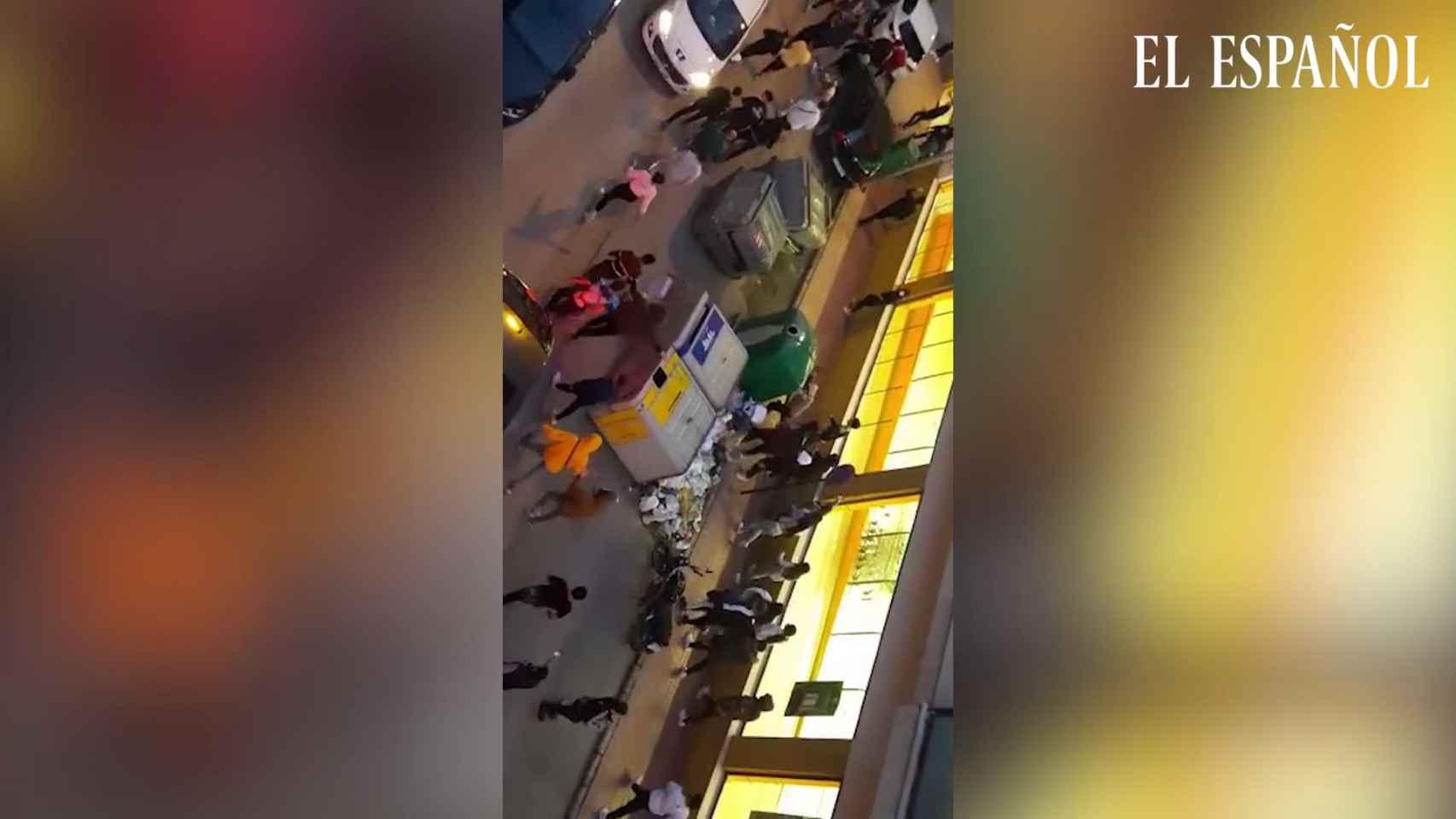 Disturbios en Linares por la paliza de dos policías nacionales a un hombre y su hija