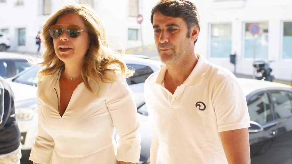 María José Campanario y Jesulín de Ubrique en una imagen de junio de 2019.