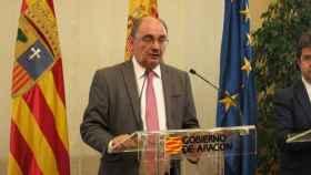 El presidente de Aragón, Javier Lambán. Efe