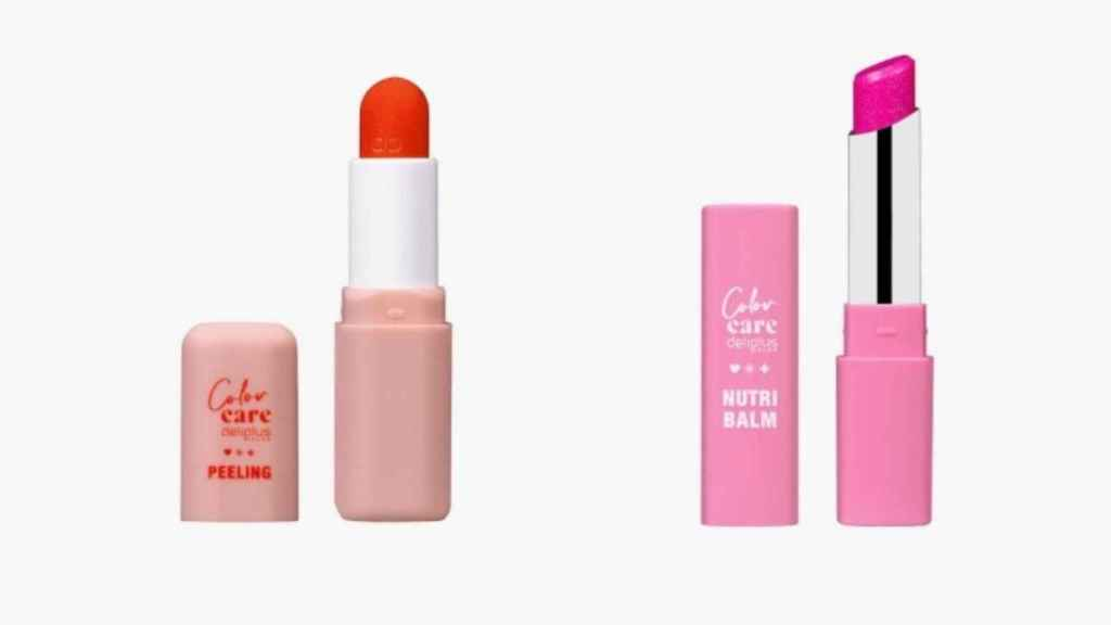 La línea de maquillaje cuenta con dos productos dedicados a los labios.