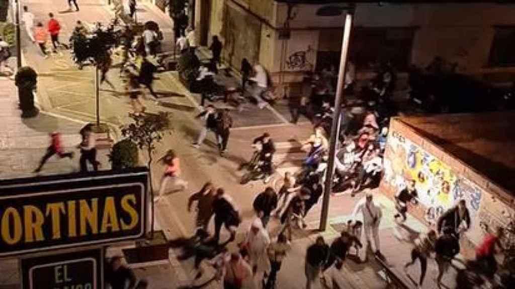 Disturbios en Linares.