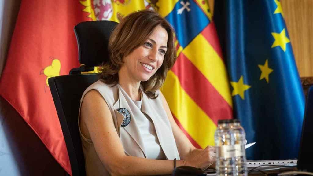 Natalia Chueca, consejera municipal de Servicios Públicos y Movilidad de Zaragoza.