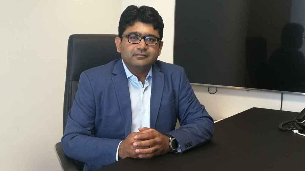 Vikas Bansal, el jefe regional para Europa de Sterling and Wilson Solar Limited (SWSL),
