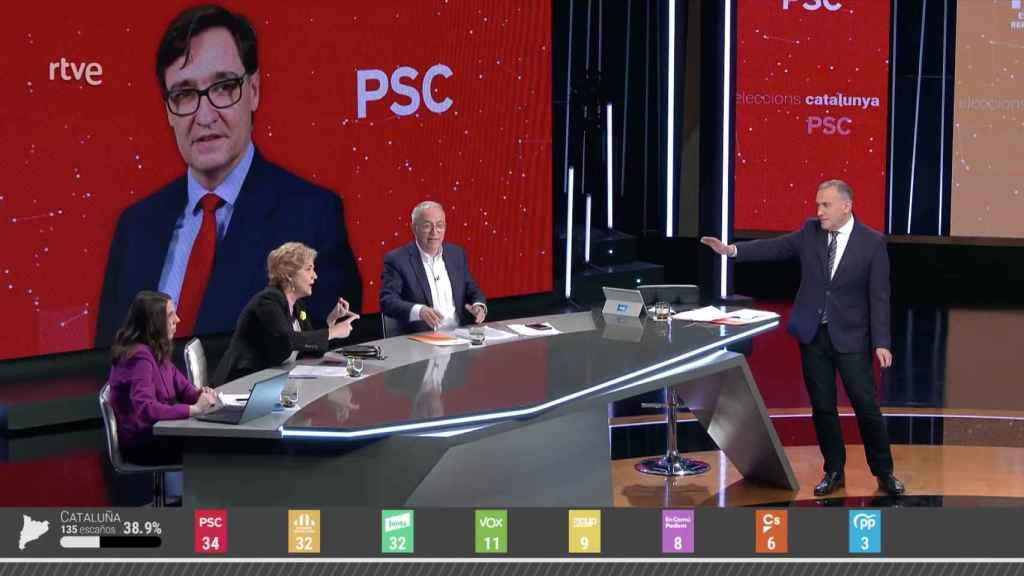 La peor semana de La 1 de TVE  termina con su peor dato histórico de audiencia