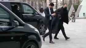 Al-Khelaifi en Barcelona