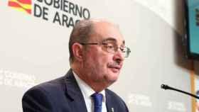 Javier Lambán, presidente de Aragón, en una imagen de archivo