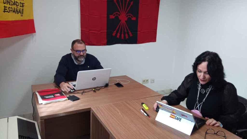 Despacho de la exdiputada de Vox en el Parlamento andaluz