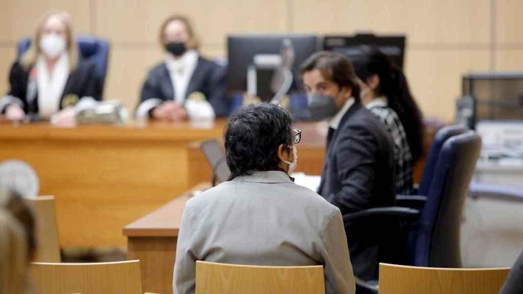 Luis Eduardo Ramírez Icardi, exmarido de Mónica Oltra, durante la repetición del juicio.
