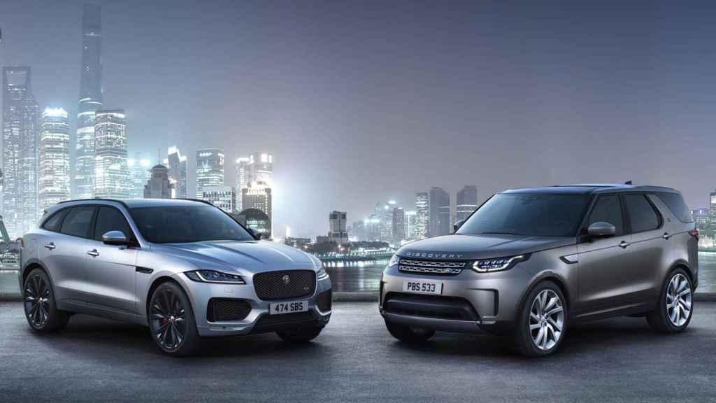 Jaguar  y Land Rover son dos marcas británicas.