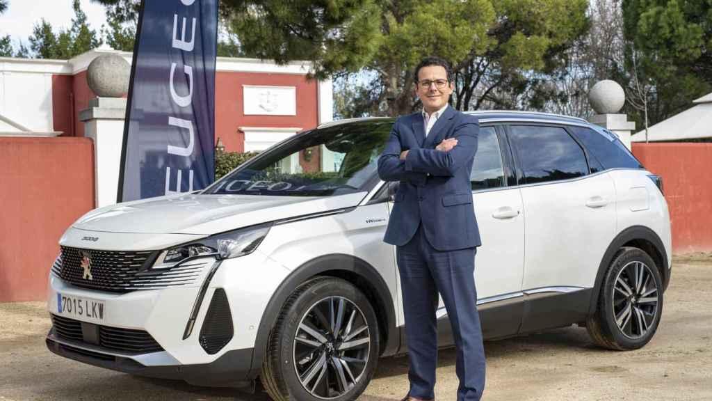 Joao Mendes es el director de Peugeot en España y Portugal desde el pasado mes de octubre.