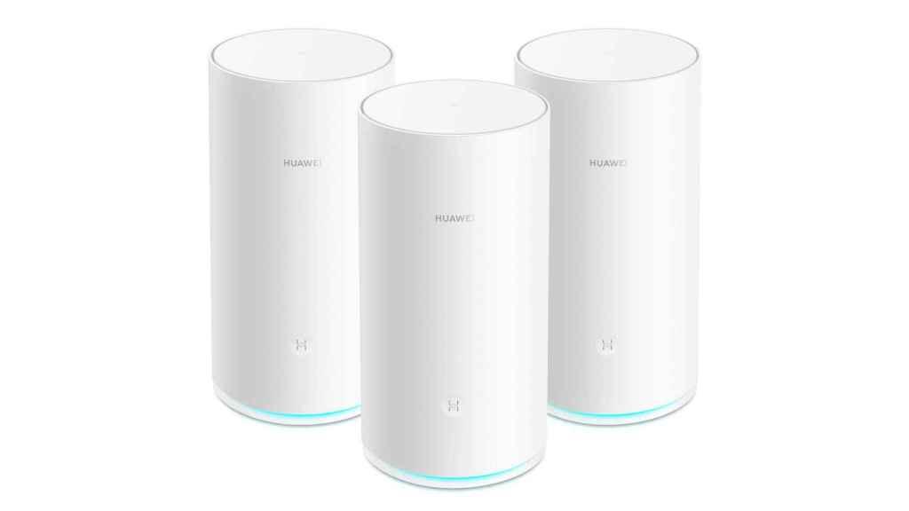 Los nuevos dispositivos Huawei WiFi Mesh